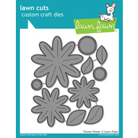 Lawn Fawn Cuts Flower Power Dies LF1205 FREE SHIPPING