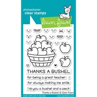 Lawn Fawn Stamps Thanks a Bushel LF1208