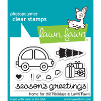 Lawn Fawn Stamps  Home For The Holidays LF1220
