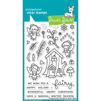 Lawn Fawn Stamps  Frosty Fairy Friends LF1224
