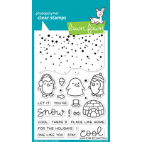 Lawn Fawn Stamps  Snow Cool LF1226