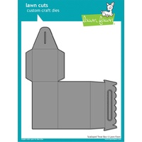 Lawn Fawn Cuts Scalloped Treat Box Die