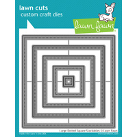 Lawn Fawn Cuts Large Dotted Square Stackable Die LF1281