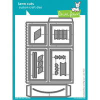 Lawn Fawn Lawn Cuts Scalloped Box Card PopUp Dies LF1376