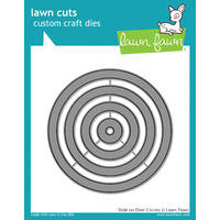 Lawn Fawn Lawn Cuts Slide on Over Circles Dies LF1382