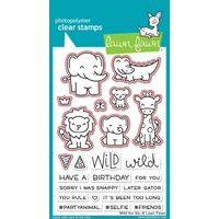 Lawn Fawn Wild For You Stamp+Die Bundle
