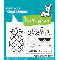 Lawn Fawn Stamps Aloha LF1417