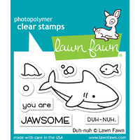 Lawn Fawn Stamps DuhNuh LF1419