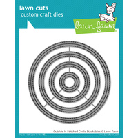 Lawn Fawn Cuts Outside in Stitched Circle Stackables LF1441