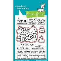 Lawn Fawn How You Bean? Candy Corn Add-On Stamp+Die Bundle