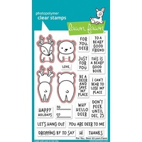 Lawn Fawn For You, Deer Stamp+Die Bundle