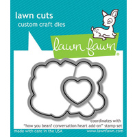 Lawn Fawn Cuts How You Bean? Conversation Heart Add-Ons Dies LF1554