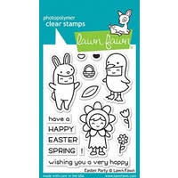 Lawn Fawn Stamps Easter Party LF1589