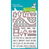 Lawn Fawn Coaster Critters Stamp+Die Bundle