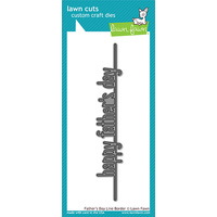 Lawn Fawn Cuts Father's Day Line Border LF1708