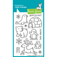 Lawn Fawn Stamps Critters in the Snow LF312