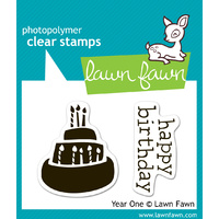 Lawn Fawn Stamps Year One LF346