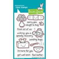 Lawn Fawn On The Mend Stamp+Die Bundle