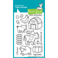 Lawn Fawn Stamps Critters on the Farm LF355