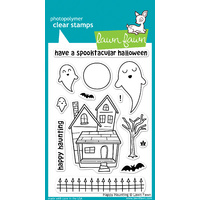 Lawn Fawn Stamps Happy Haunting LF357