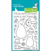 Lawn Fawn Stamps Making Frosty Friends LF362