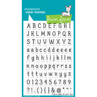 Lawn Fawn Stamps Claire's ABCs LF381