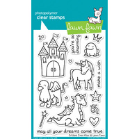 Lawn Fawn Stamps Critters Ever After LF382