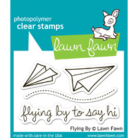 Lawn Fawn Stamps Flying By LF386