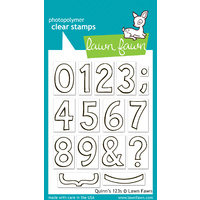 Lawn Fawn Stamps Quinn's 123s LF392