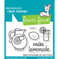 Lawn Fawn Stamps Make Lemonade LF395