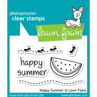 Lawn Fawn Stamps Happy Summer LF396