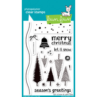 Lawn Fawn Stamps Let it Snow LF427