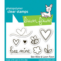 Lawn Fawn Stamps Bee Mine LF439