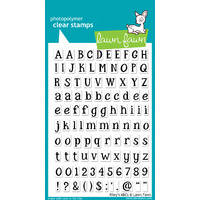Lawn Fawn Stamps Riley's ABCs LF452