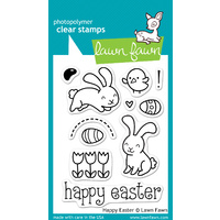 Lawn Fawn Stamps - Happy Easter LF453 FREE SHIPPING
