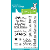 Lawn Fawn Stamps Lucky Stars LF514