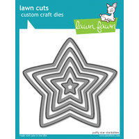 Lawn Fawn Cuts Puffy Star Stackables Dies LF521