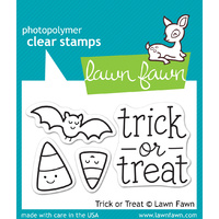 Lawn Fawn Stamps Trick or Treat LF554