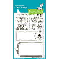 Lawn Fawn Stamps Winter Gifts LF566