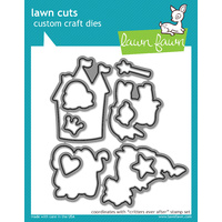 Lawn Fawn Cuts Critters Ever After Dies LF590
