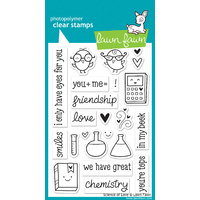 Lawn Fawn Stamps Science of Love LF597