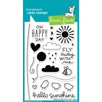 Lawn Fawn Stamps - Hello Sunshine LF651 FREE SHIPPING