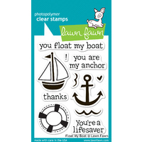Lawn Fawn Stamps - Float My Boat LF654 FREE SHIPPING