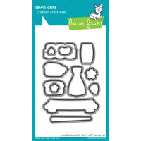 Lawn Fawn Cuts Let's Roll Dies LF658