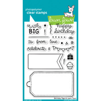 Lawn Fawn Stamps - Birthday Tags LF663 FREE SHIPPING