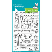 Lawn Fawn Stamps - Life is Good LF680 FREE SHIPPING