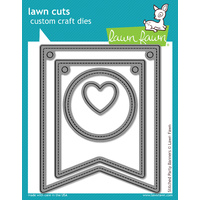 Lawn Fawn Cuts Stitched Party Banners Dies LF687