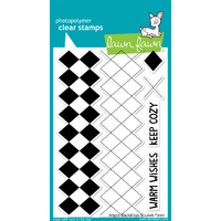 Lawn Fawn Stamps - Argyle Backdrops LF697 FREE SHIPPING