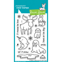 Lawn Fawn Stamps Critters in the Arctic LF708