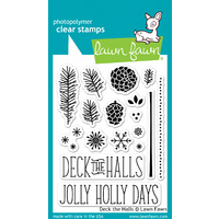 Lawn Fawn Stamps - Deck the Halls LF721 FREE SHIPPING